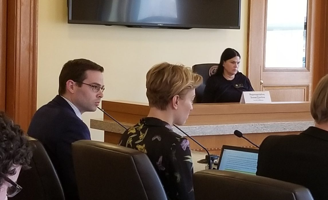 Patrick Potyondy giving testimony supporting HB19-1239